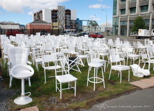 Mémorial aux victimes du séisme de 2011, Christchurch, île du Sud, Nouvelle-Zélande