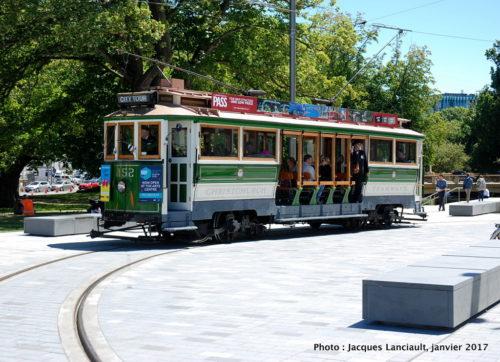 Tramways, Christchurch, île du Sud, Nouvelle-Zélande