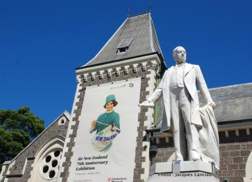 Musée de Canterbury, Christchurch, île du Sud, Nouvelle-Zélande