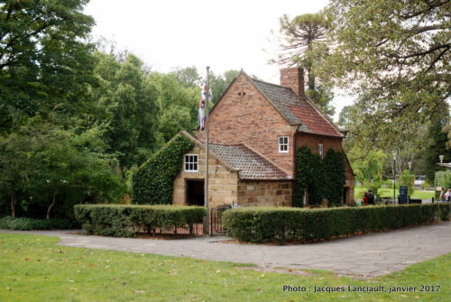 Maison des parents de James Cook, Fitzroy Gardens, Melbourne, Australie