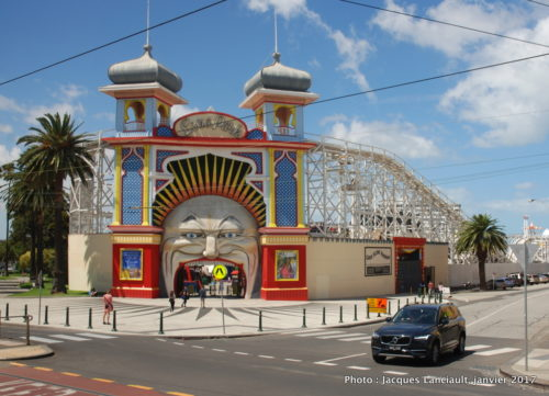 Luna Park, St Kilda,, Australie