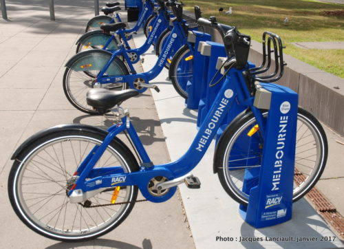 Melbourne Bike Share, Melbourne, Australie