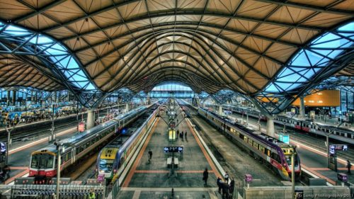 Southern Cross Station, Melbourne, Australie