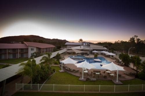 Lasseters Crowne plaza Hotel Casino, Alice Springs, Australie