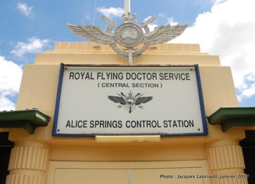 Royal Flying Doctor Service, Alice Springs, Australie
