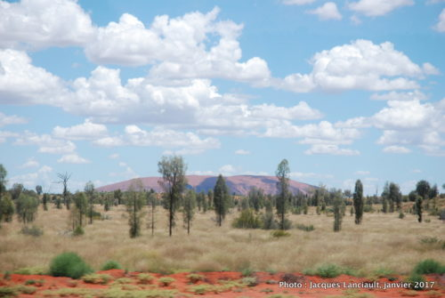 Mont Uluru, Outback, Australie