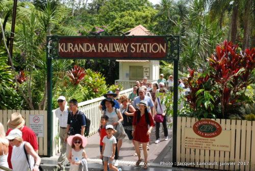 Kuranda Scenic Railway, Queensland, Australie