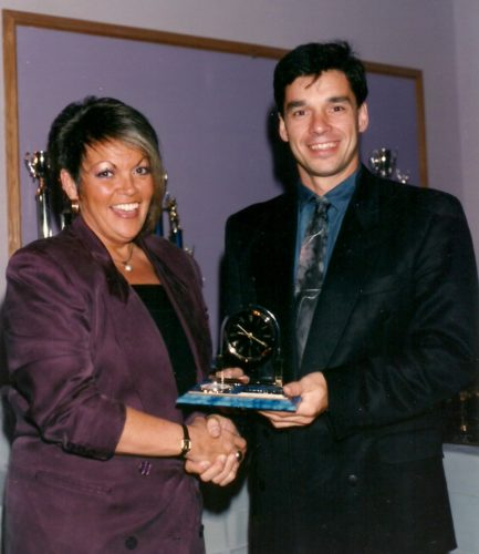 Gala LBMJÉ1992, Francyne Lauzon et Sylvain Mercier