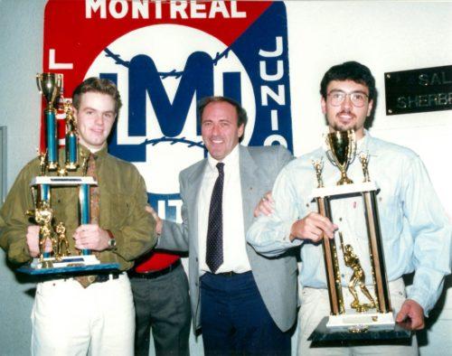 Gala LBMJÉ 1992, Martin Campeau, Ron Piché et Martin Lamarche
