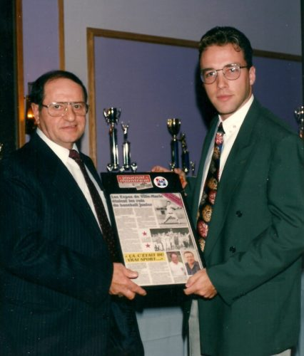 Gala LBMJÉ1992, Raymond Demers et Martin Leclerc