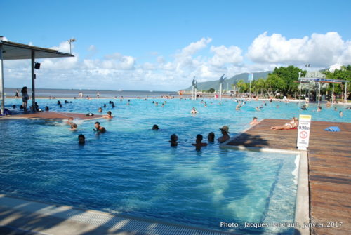Cairns Esplanade Swimming Lagoon, Cairns, Queensland, Australie