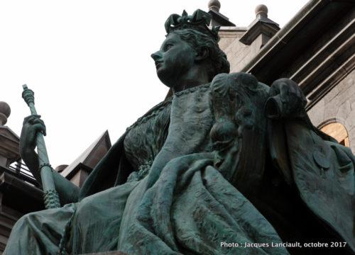La reine Victoria, Montréal, Québec