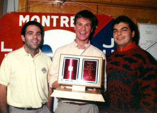Alain Brissette, Sylvain Saindon et Alex Agostino