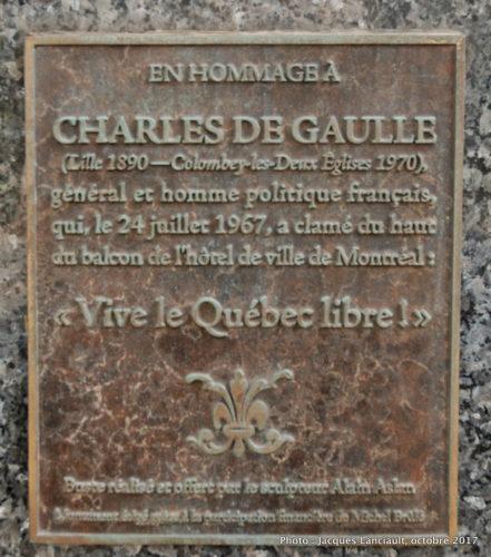 Charles de Gaulle, Montréal, Québec