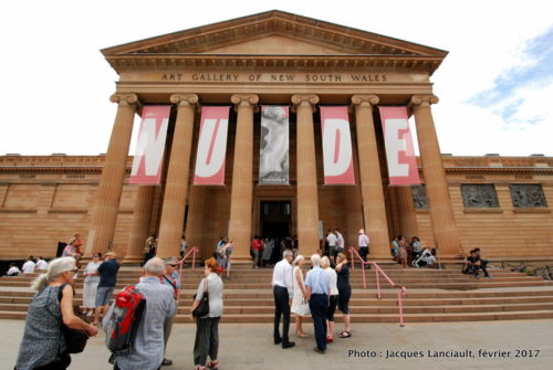 Art Gallery of New South Wales, Sydney, Nouvelle-Galles-du-Sud, Australie
