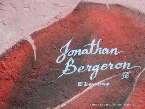 Jonathan Bergeron, Montréal, Québec