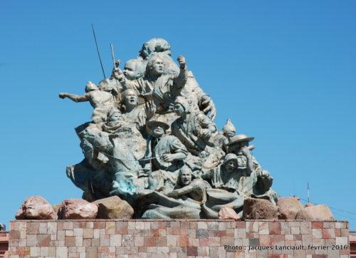 Monument Juana Azurduy, Buenos Aires, Argentine