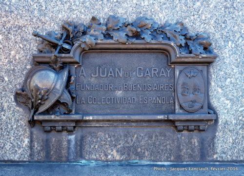 Juan de Garay, Buenos Aires, Argentine
