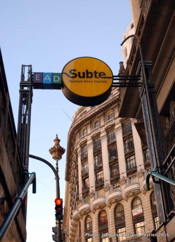 Subte, Buenos Aires, Argentine