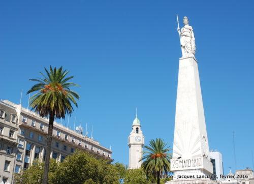 Pirámide de Mayo, Buenos Aires, Argentine.
