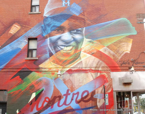 Jackie Robinson, Fluke, Montréal, Québec