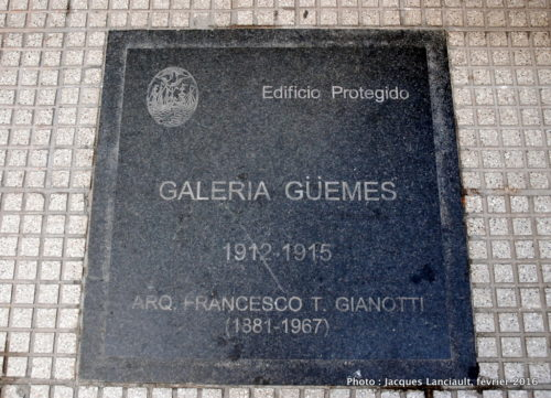 Galería General Güemes, Buenos Aires, Argentine