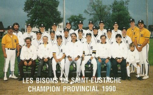 Bisons de Saint-Eustache 1990