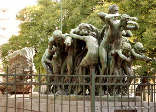 Monumento Canto al Trabajo, San Telmo, Buenos Aires, Argentine