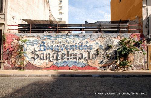 Barrio San Telmo, Buenos Aires, Argentine