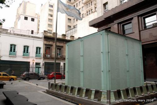 Plaza Heroes de Malvinas, Buenos Aires, Argentine