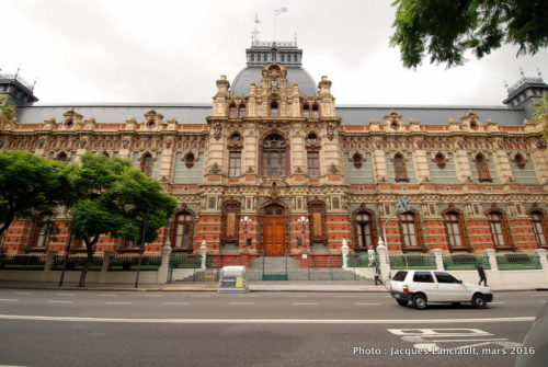 Palacio de las aguas Corrientes, Buenos Aires, Argentine