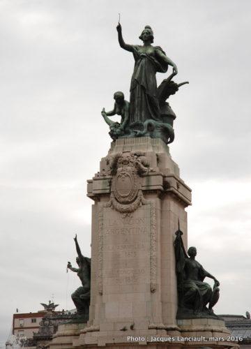 Plaza del Congreso, Buenos Aires, Argentine