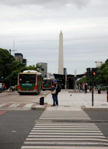 Obelisco, Avenida9 de julio, Buenos Aires, Argentine