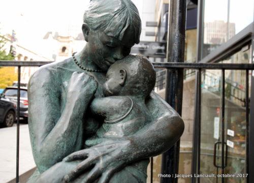 La mère et l'enfant, Montréal, Québec