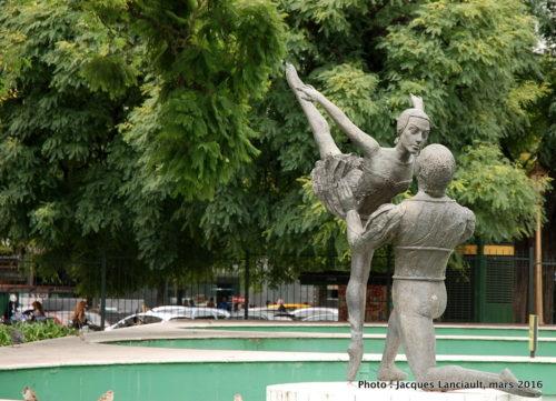 El Homenaje al Ballet Nacional, Plaza Lavalle, Buenos Aires, Argentine