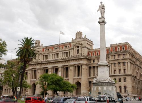 Colonne Juan Lavalle, plaza Lavalle, Buenos Aires, Argentine