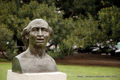 Buste de Miguel Hidalgo y Costilla, plaza Lavalle, Buenos Aires, Argentine