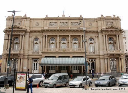 Teatro Colón, plaza Lavalle, Buenos Aires, Argentine