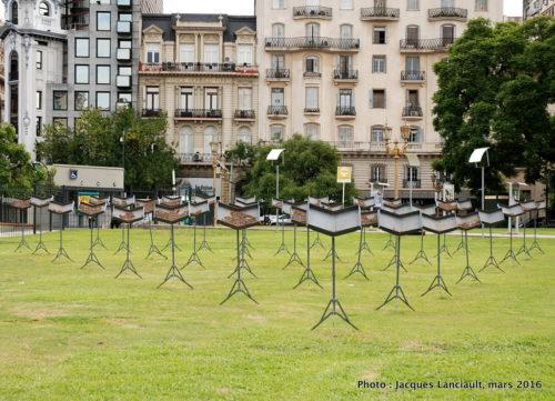 Plaza Lavalle, Buenos Aires, Argentine