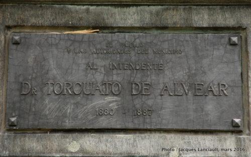 Plaza Ramón J. Cárcano, Quartier Recoleta, Buenos Aires, Argentine