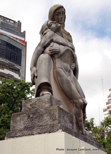Monumento A los caídos el 6 de septiembre 1930, Buenos Aires Argentine