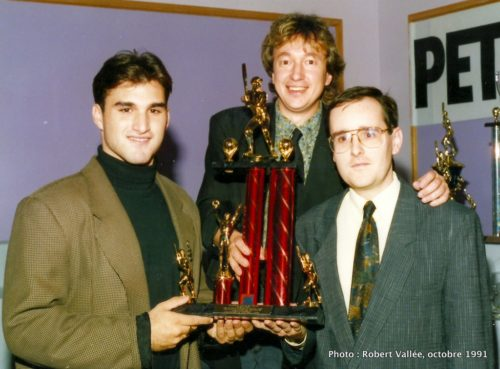Tony Marabella, Gilles Vachet et Daniel Renaud