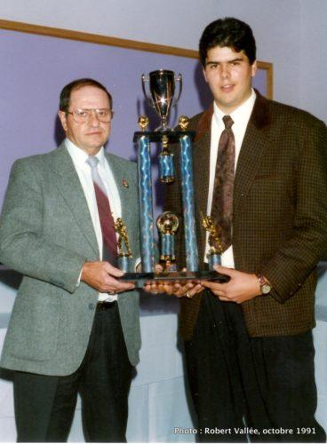 Raymond Demers et Daniel Brabant