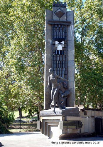 María Eva Duarte de Perón, Buenos Aires, Argentine