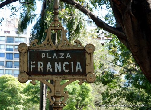 Plaza Francia, Buenos Aires, Argentine