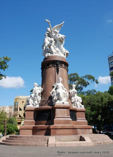 Monument du centenaire de la Révolution de mai, plaza Francia, Buenos Aires, Argentine
