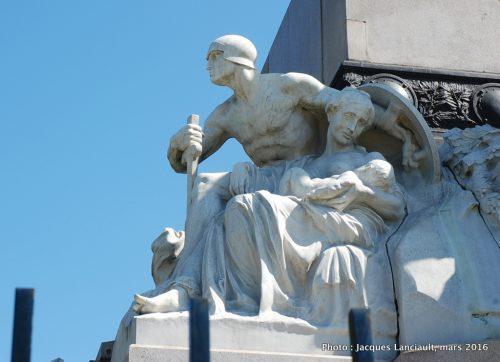 Bartolomé Mitre, Plaza Bartolomé Mitre, Buenos Aires, Argentine