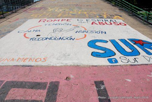 Pont piétonnier, Buenos Aires, Argentine