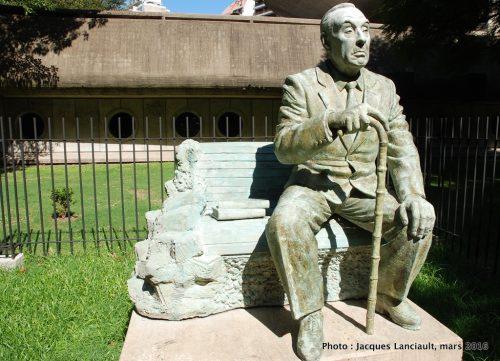 Jorge Luis Borges, Bibliothèque nationale de la République argentine, Buenos Aires, Argentine