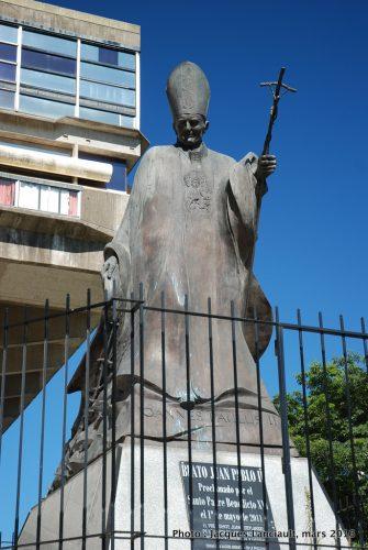 Jean-PaulII, Bibliothèque nationale de la République argentine, Buenos Aires, Argentine